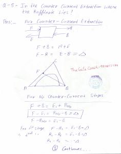 gate 2015 chemical engineering problem, gate 2015 mass transfer solution