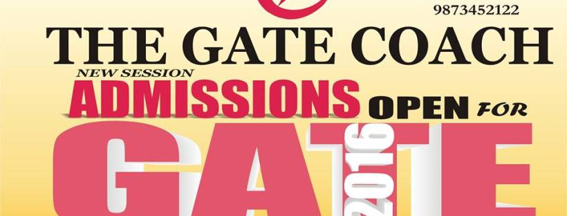 gate 2016, gate 2017, best gate coaching, coaching for gate