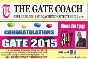 gate 2015 results, gate 2015 rank