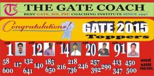 gate 2016, gate 2015 rank