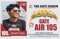 GATE 2016 Toppers AIR 105