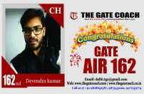 GATE 2016 Toppers AIR 162