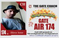 GATE 2016 Toppers AIR 174