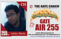 GATE 2016 Toppers AIR 255