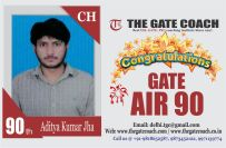 GATE 2016 Toppers AIR 90