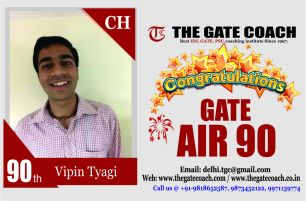 GATE 2016 Topper AIR 90