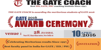 gate 2016 result, gate 2016 toppers