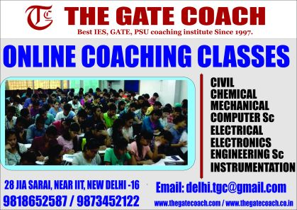 Online coaching for gate