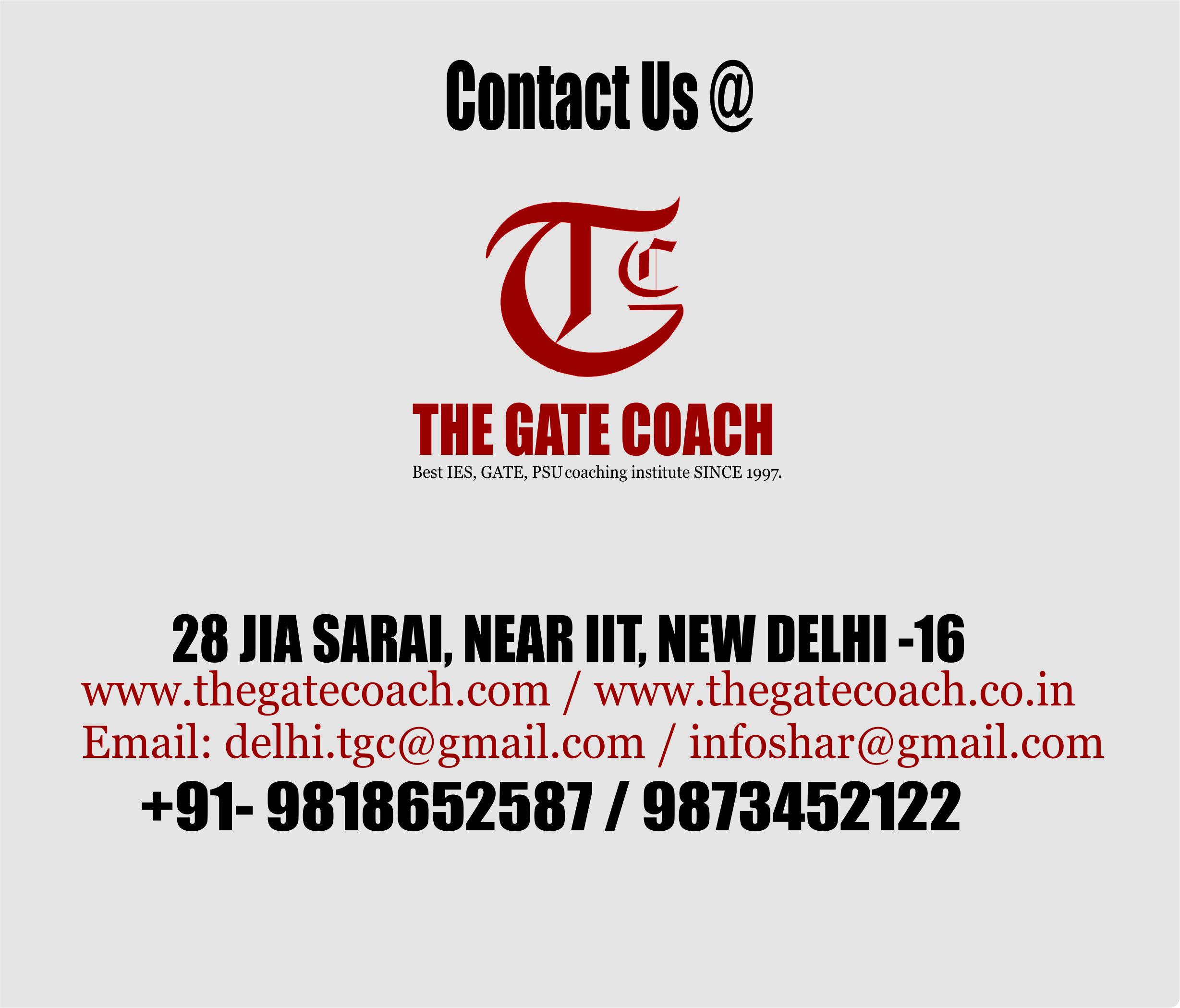 best gate coaching