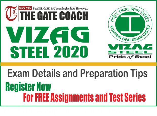 best gate coaching, vizag steel 2020,